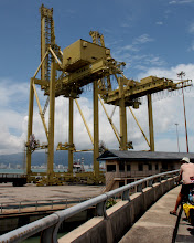 Photo: Year 2 Day 111 - Giant Crane in the Ferry Terminal
