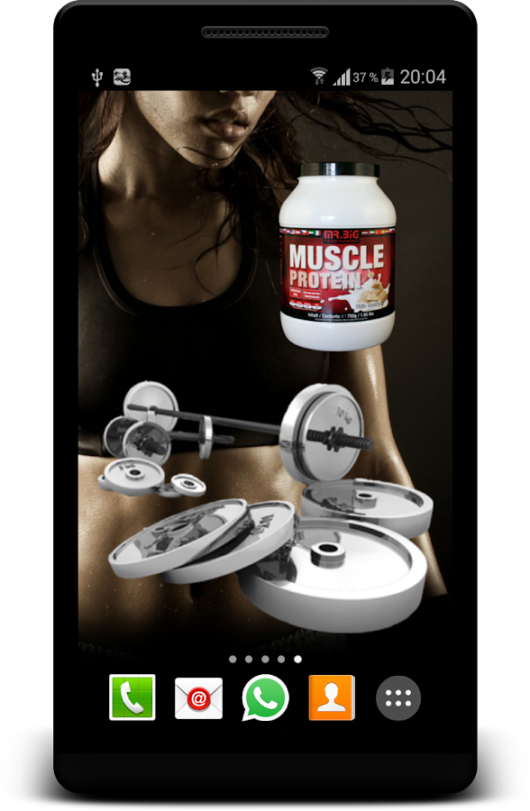 Fitness Sports Gym Widgets HD