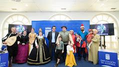 Presentación en el Palacio provincial de la 'Paz de las Alpujarras'.