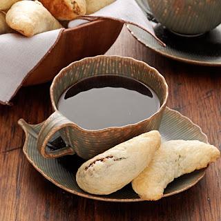 Walnut Horn Cookies.