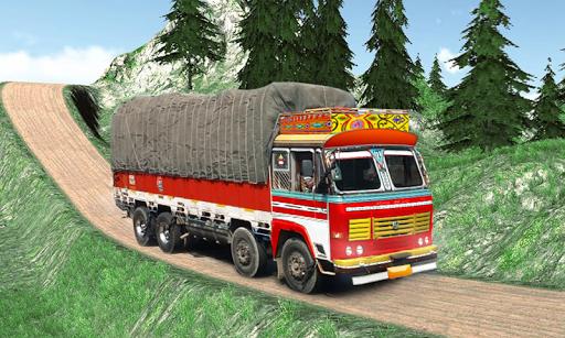 Indian Cargo Truck Driver Simulator apkpoly screenshots 6