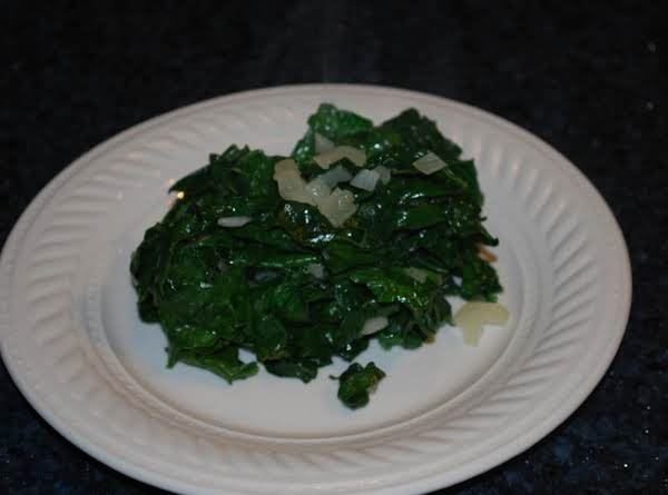 Sauteed Spinach With Nutmeg Recipe