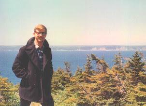 Photo: Me, Summer 1966, St. Pierre [or St. John's?]
