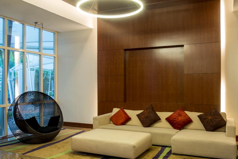 Simplistic living space in Anthony Rd Residences, Orchard Road