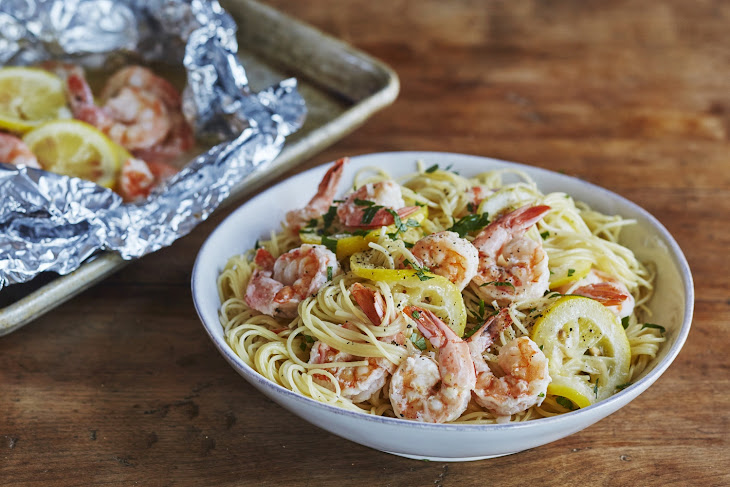 Freezer-to-Oven Shrimp Scampi Recipe