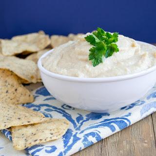Creamy Hummus Recipe Made With Greek Yogurt