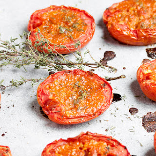 Candied Roma Tomatoes.