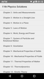 physics xi solutions for ncert apps on google play