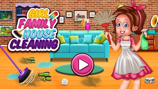 Nettoyage de maison familiale: jeux de nettoyage  captures d'écran 1