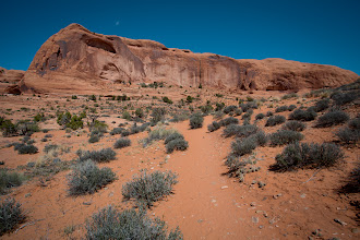 Photo: Passover in Moab - the hike up the trail.