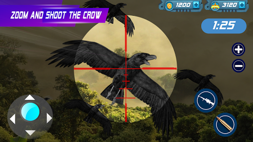 Birds Hunter:Jungle shooting games free  captures d'écran 1