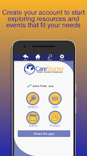 CareStarter- screenshot thumbnail