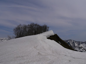 手前ピーク(1587.6m)