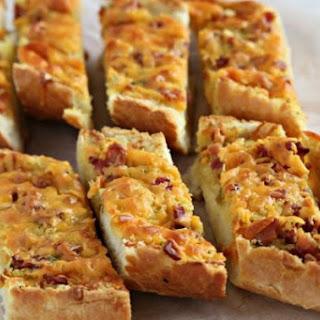 Bacon Cheddar French Bread.
