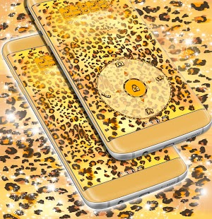 Locker Leopard Print Theme - náhled