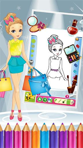 玩免費教育APP|下載プリティガールファッションColorbook app不用錢|硬是要APP