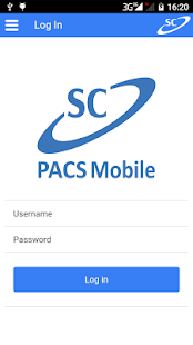 SC PACS Mobile - náhled