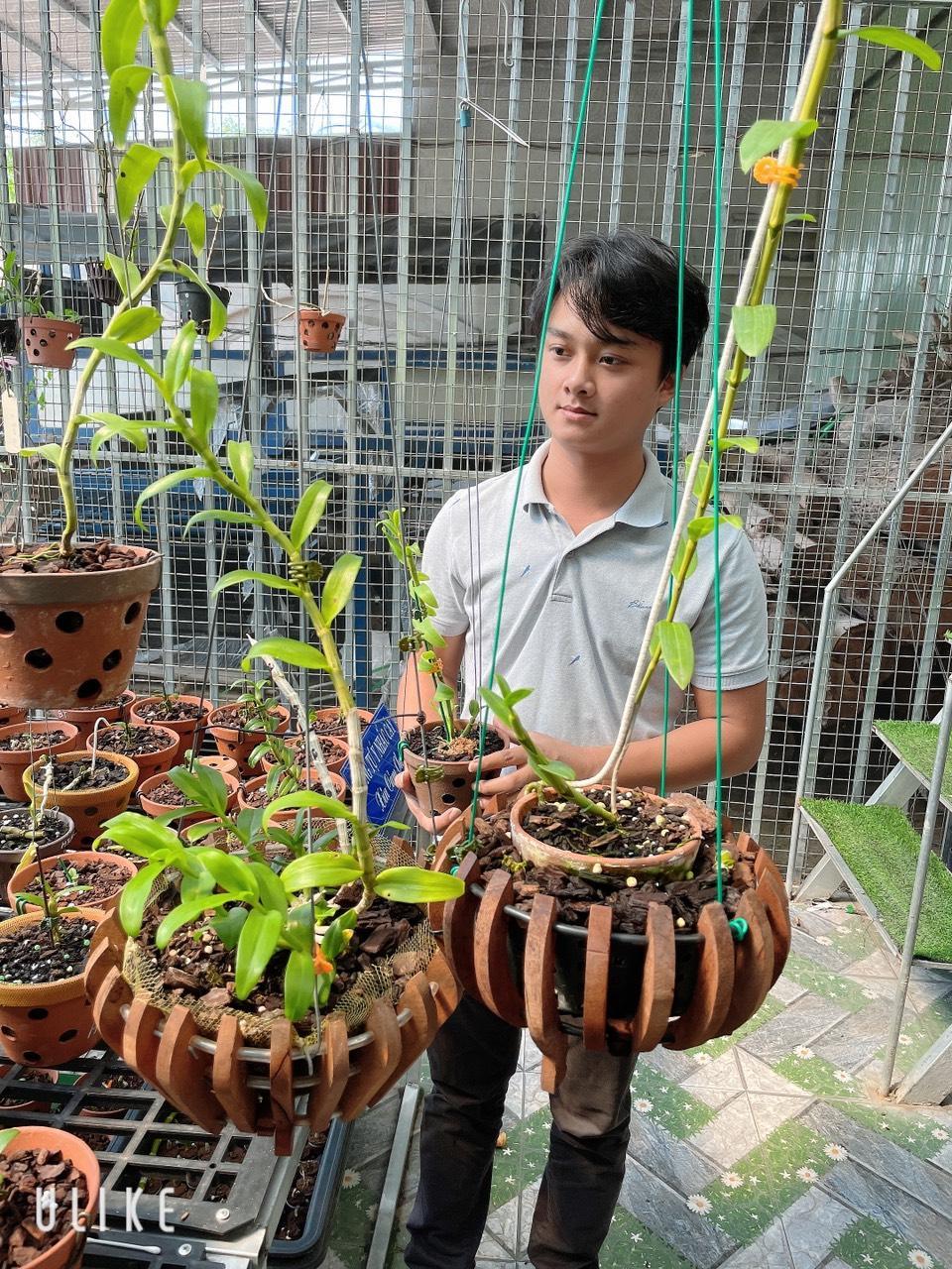 Nghệ nhân Trịnh Tuân – Bén duyên với lan bằng đam mê - Ảnh 2