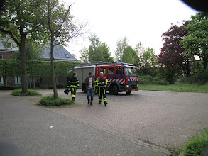 Photo: Joepie, daar is de brandweer!