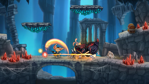 Télécharger Finn & Ancient Mystery: Courez, sautez et avancez apk mod screenshots 5