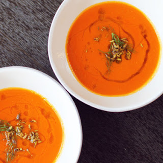 Tomato-Fennel Soup with Absinthe