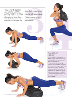 Women's Health & Fitness- screenshot thumbnail