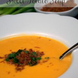 Healthy Sweet Potato Soup.
