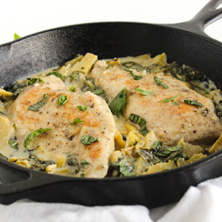 Spinach Artichoke Chicken Recipes.