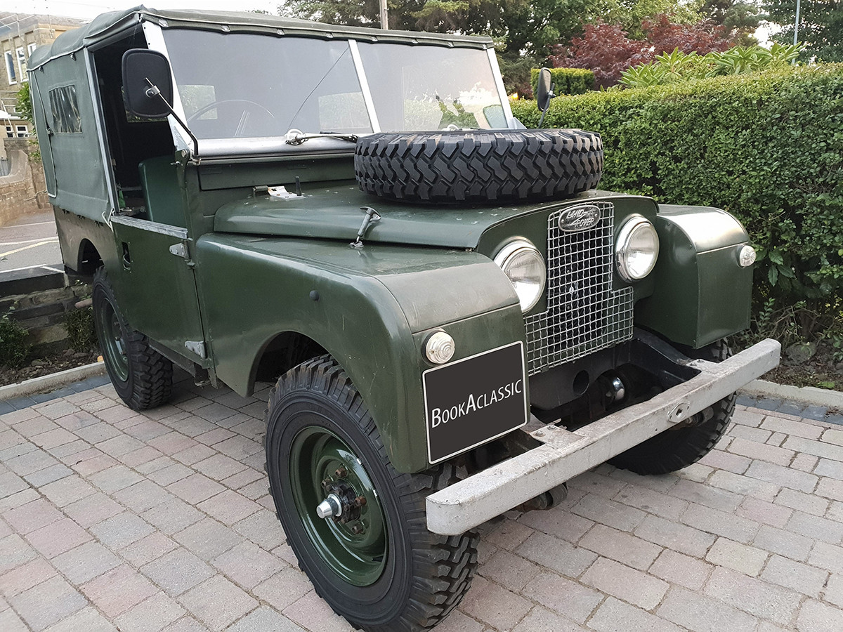 Land Rover Series 1 Hire Elland