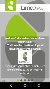 LimeOnAir - náhled