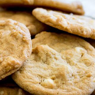 White Chocolate and Macadamia Nut Subway Style Cookies.
