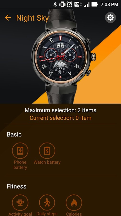 ZenWatch Manager- screenshot