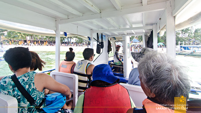 Boracay  Island Hopping Tour Boat
