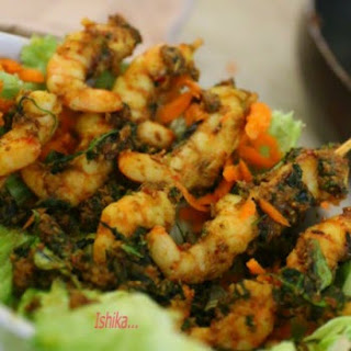 PRAWNS PALEO WITH APPLE CIDER VINEGAR