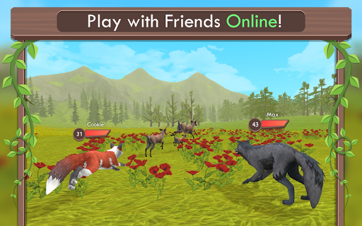 WildCraft: Animal Sim Online 3D 2.2 gameplay | by HackJr.Pw 15