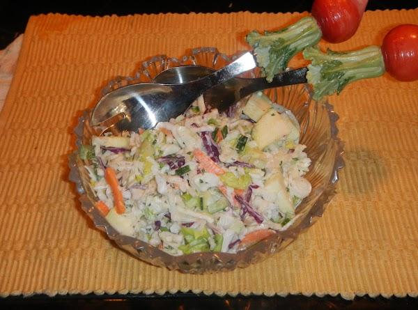 Cookies Creamy Cole Slaw Salad Recipe