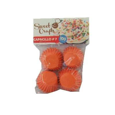 capacillos sweet crafts naranja n.7