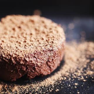 Vegan Salted Chocolate Fudge.