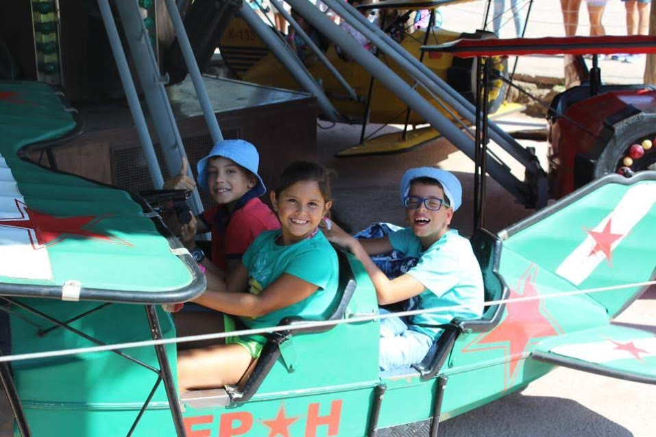 Parque de diversões oferece dia mágico às crianças da Misericórdia de Lamego