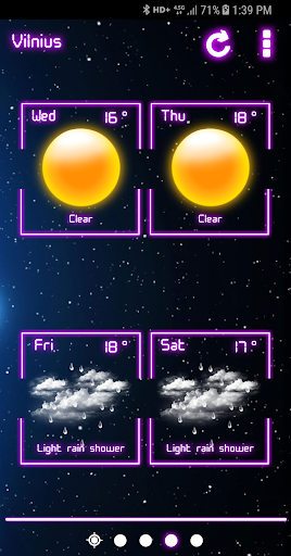 Weather Neon  screenshots 4