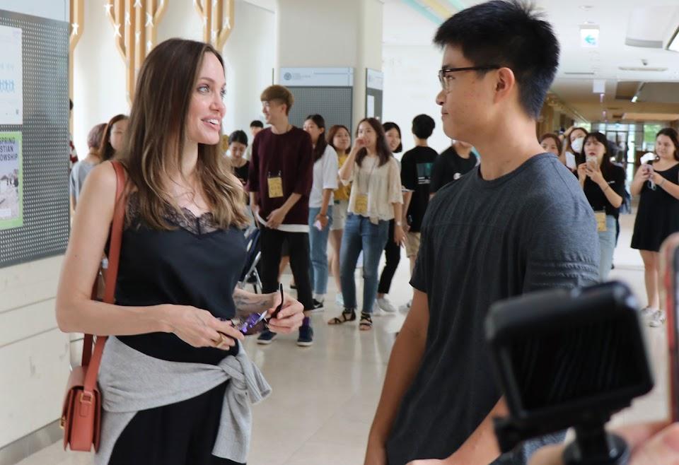 Angelina Jolie Yonsei University