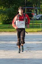 Photo: Maciej Dubaj finiszuje