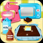 Bake Chocolate Caramel Candy Bars Icon