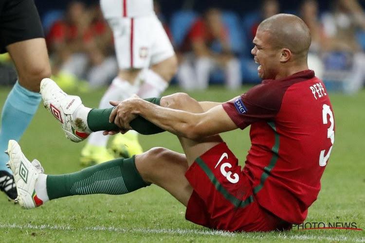 Toujours pas d'entraînement pour Pepe