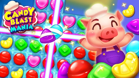 Candy Blast Mania Match 3 Puzzle Game 1.4.2 Mod (Unlimited Money) 1