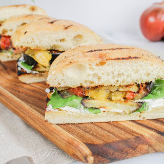 Grilled Eggplant Sandwiches