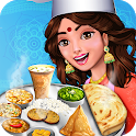 Indian Food Restaurant Kitchen Story Cooking Games icon
