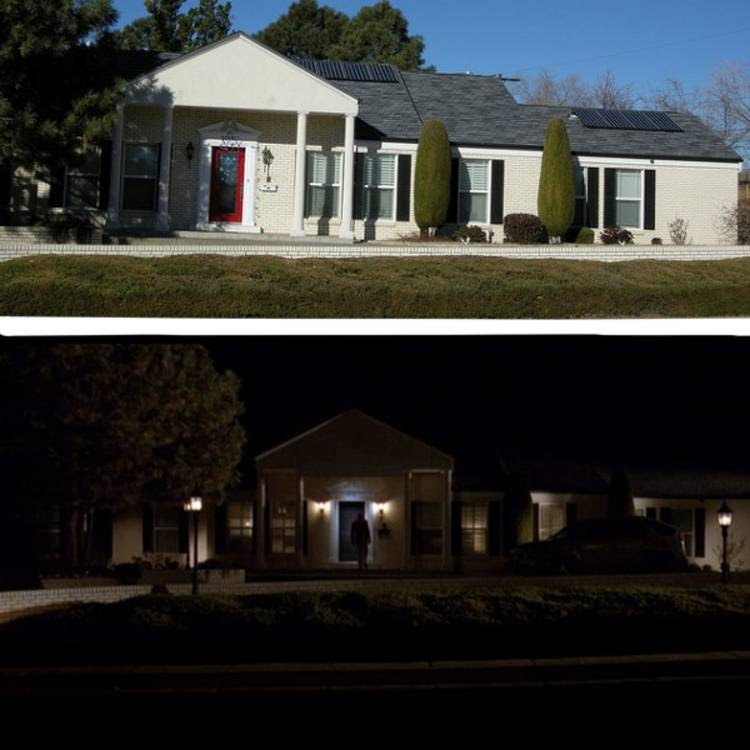 La casa de Gus Fring en Breaking Bad