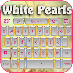 White Pearls Keyboard