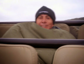 Photo: It was cold when the morning game drives started! Happily, in six game drives and one walk, it never rained on us.